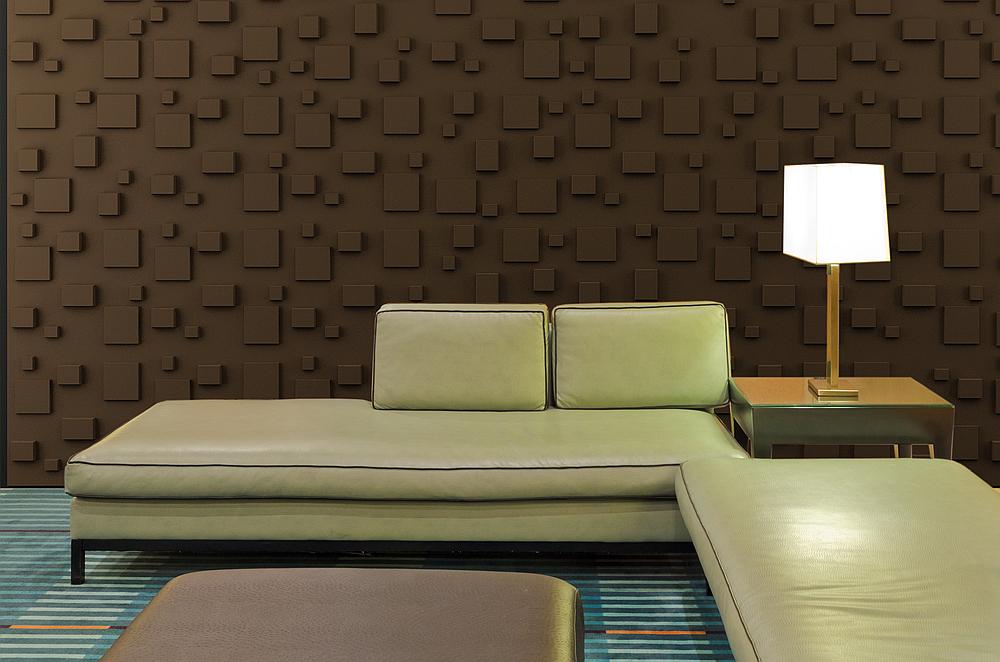 3D panel Cube_